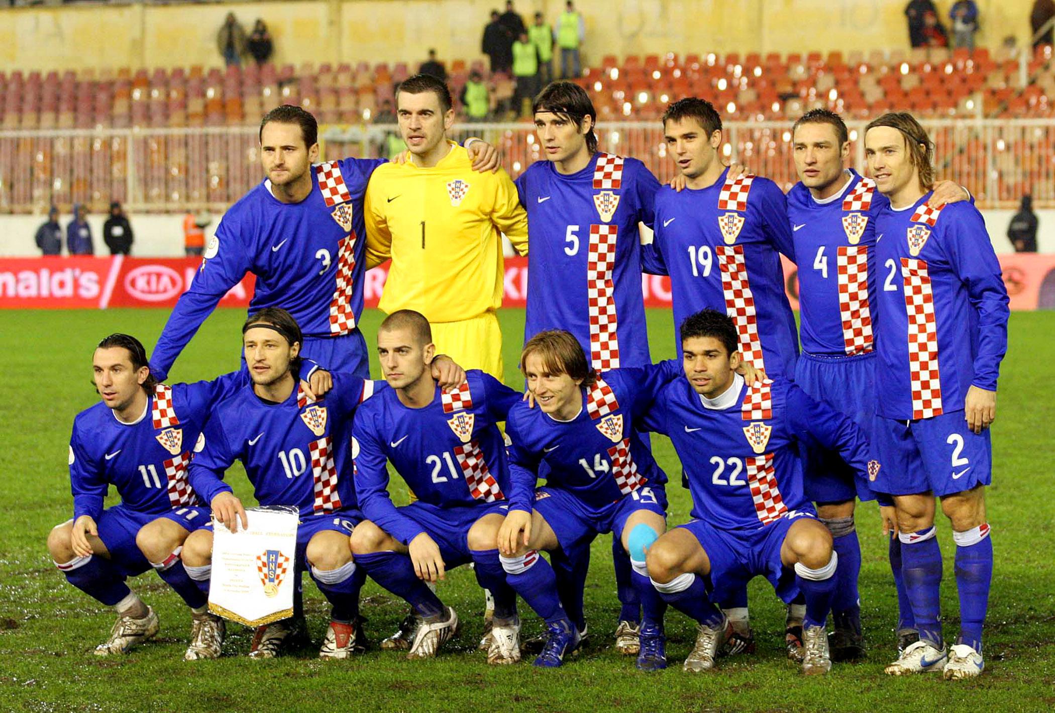 Kroatische Nationalmannschaft Aufstellung
